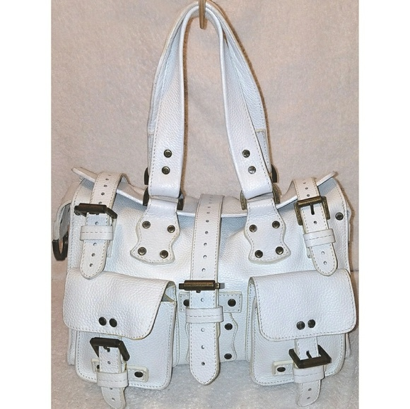 Mulberry Roxanne studded Satchel with buckles 73f3403eb89f1